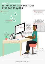 how to set up your desk for your best day at work the huffington how to set up your desk for your best day at work