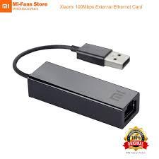 <b>Original</b> Xiaomi USB External Fast Ethernet Card RJ45 Mi USB2.0 ...