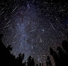 Image result for perseids meteor shower