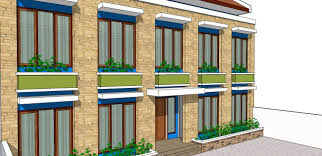 Boarding House Design IdeasThe combination of colors from which to make a rooming house looks beautiful  a little