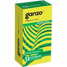 <b>Презервативы Ultra</b> Thin Ультра тонкие / <b>GANZO</b> / 12 шт. - купить ...