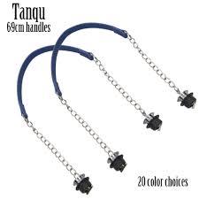 New <b>Tanqu 1 Pair</b> Silver Short Thick Single Chain with OT metal ...