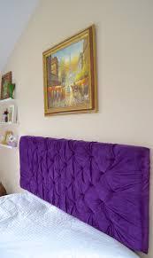 spectacular purple tufted headboard  headboard ikea  actioncopycom