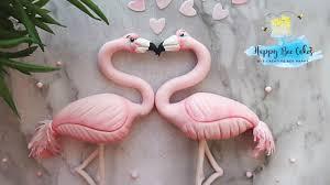 How to make a <b>flamingo</b> | Valetines day cake <b>decorating</b> - YouTube