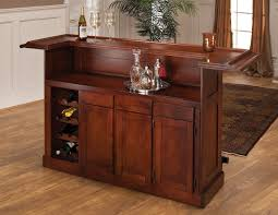 hillsdale classic cherry large home bar buy home bar furniture