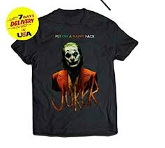 Jokers 2019 Shirt Put On A Happy Face T-Shirt For ... - Amazon.com