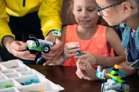 Дети создают роботов с <b>учителем</b>. <b>раннее развитие</b>, сделай сам ...