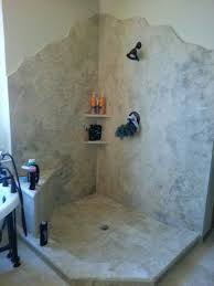 granite bathroom walls