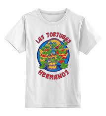 Детская <b>футболка классическая</b> унисекс <b>Printio Las</b> Tortugas ...