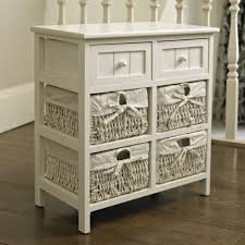 white storage unit wicker: white storage unit  baskets  drawers white wicker baskets and storage units