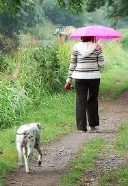 Με ήλιο αλλά και με βροχή...
