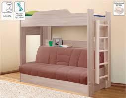 <b>Двухъярусная кровать</b> с диваном, <b>Боровичи</b> мебель - Детские ...