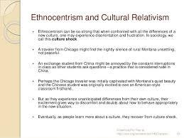Ethnocentrism v  Cultural Relativism   helalinden com Helalinden com Ethnocentrism and cultural relativism