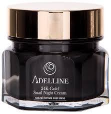 Adelline <b>24K</b> Gold Snail Night Cream Ночной <b>крем для лица</b> ...