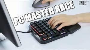 One-handed Mechanical <b>Gaming Keyboard</b> - GearBest - YouTube