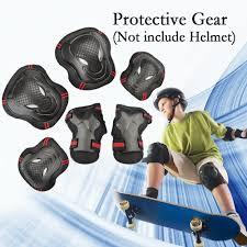 <b>6PCS</b> Adults Teens <b>Childrens</b> Youths Kid's Skateboard Gear Guard ...