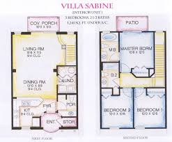 Elegant Story House Plans Displaying Luxury   Gorgeous Modern    Elegant Story House Plans Displaying Luxury   Gorgeous Modern Story Villa Floor Plans Sabine Arts Design Ideas   Small Space