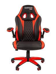 Купить Геймерское <b>кресло CHAIRMAN GAME 15</b>, экокожа ...