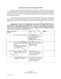 leave of absence sample forms and letters 00046025