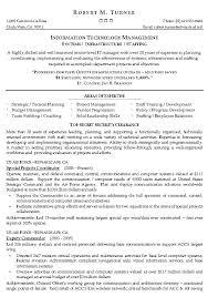 information technology management resume example  it sample resumesrelated free resume examples
