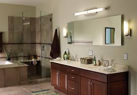 lighted vanity mirrors bathroom modern wooden