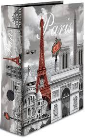 <b>Папка</b>-регистратор с арочным механизмом Париж <b>А4</b> обложка ...