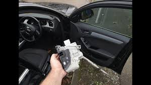 How to replace the <b>door</b> lock actuator in an <b>Audi A4</b> B8 - YouTube