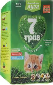"""Набор для выращивания <b>Альпийские луга</b> """"<b>7</b> трав"""", для кошек, 75 г"""