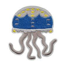 """<b>Gamma</b>"" Термоаппликации <b>№29</b> №3210 медуза 8.5 х 9 см купить ..."
