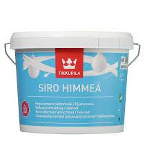 Купить <b>Краска в/д</b> для потолка Tikkurila <b>Siro Himmea</b> 2.7 л от 1 ...