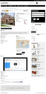 city classifieds joomla template joomla monster city classifieds joomla template single ad