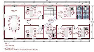 prefabricated office space. prefab office first floor plan 214 m prefabricated space f