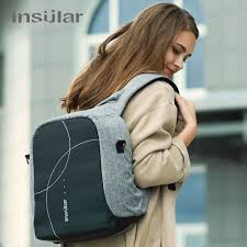 2017 NEW <b>INSULAR Mother Bag</b> Baby <b>Nappy</b> Bags | Shopee ...