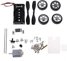 BIlinli <b>130</b> Brush Motor <b>Mini Wind</b> Educational Toy DIY <b>Car</b> Motor ...