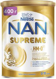 <b>Смесь</b> сухая <b>NAN Supreme</b>, на основе частично ...