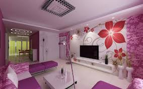 Purple Living Room Design Purple Living Room The Idea Of Color Combinations Between Wall
