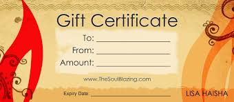gift certificate templates certificate templates gift certificate 4