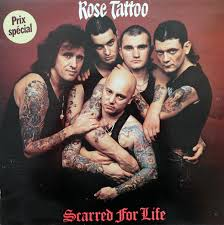 <b>Rose Tattoo</b> - <b>Scarred</b> For Life (Vinyl, LP, Album, Stereo) | Discogs