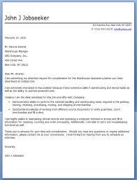 warehouse associate cover letter warehouse associate cover letter executive team leader cover letter