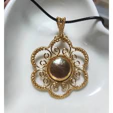 2019 <b>MADALENA SARARA</b> 12 13 AA Freshwater Pearl Gold Tone ...