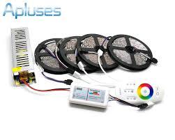5M/10M/15M/<b>20M 5050 RGB LED</b> Strip Set IP20/IP65 Waterproof ...