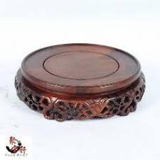 Red Sandalwood Carvings <b>Handicraft Furnishing Articles</b> Flowerpot ...