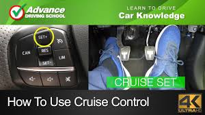 How To Use <b>Cruise Control</b> | Learn to drive: <b>Car</b> knowledge - YouTube