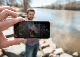 how to shoot great interviews your mobile device trout iphone interview 1 jpg how to
