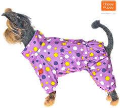 <b>Комбинезон Happy Puppy Конфетти</b> цвет сиреневый для собак ...