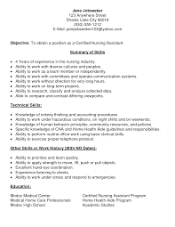 professional nursing assistant resume cipanewsletter appealing nurse aide resume examples brefash