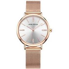 <b>Rose Gold</b>+grey <b>MINI FOCUS</b> MF0036L 4293 Contracted Travel ...