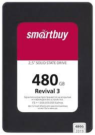 Твердотельный <b>накопитель SmartBuy</b> Revival 3 480 GB ...