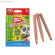 Канцелярские товары Erich Krause Набор цветных <b>карандашей</b> ...