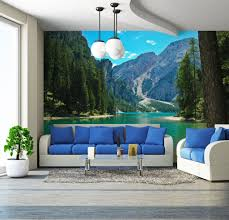 liberty bedroom wall mural: lake amp mountains in italy wall mural